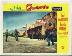 Quantez FRED MAC MURRY DOROTHY MALONE #5 1957