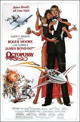 Octopussy James Bond Roger Moore