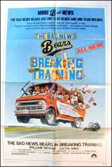 Bad News Bears Breaking Traini9ng William Devaine 1977
