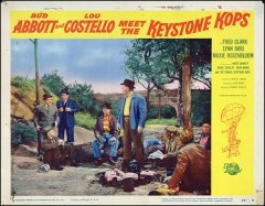 Abbott and Costillo Meet the Keystone Cops