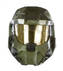 HALO 3 Master Chief Costume 1/2 Vacuform Mask