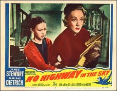 No Highway in the Sky Marlene Dietrich James Stewart