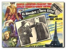 Man on the Eiffel Tower Charles Laughton Franchot Tone Burgess Meredith