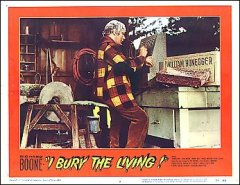 I Bury the Living Richard Boon 1958 # 4