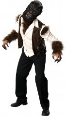 Wolfman Adult Deluxe Costume STD, XL