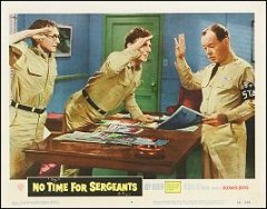 NO TIME FOR SARGEANTS # 6 Andy Griffith 1958