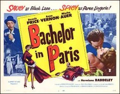 BACHELOR IN PARIS #1 1961