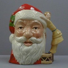 Santa Claus, with Doll, Large D6668