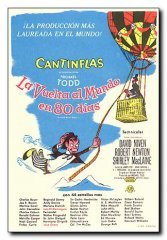 Around the World in 80 Days David Niven Shirley MacLaine Cantinflas