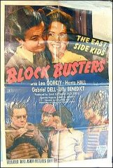 Block Busters East Side Kids Leo Gorcey Huntz HALL