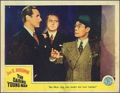 DARING YOUNG MAN from the 1942 movie. Staring Joe E. Brown #1