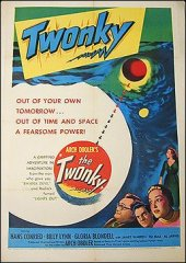 Twonky sci-fi 1953 ORIGINAL LINEN BACKED 1SH
