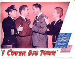 I Cover Big Town Crime Nior Philip Reed 1947