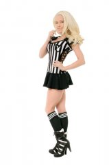PLAYBOY Licensed Costume RACY REFEREE XS, S, M, L
