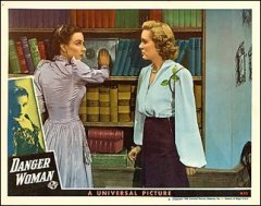 DANGER WOMAN lobby card #2 from the 1937 movie. Staring Sally Eilers