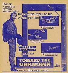 TOWARD THE UNKNOWN William Holden