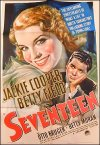 Seventeen Jackie Cooper Betty Field Otto Kruger 1940 Morgan litho