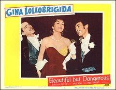 BEAUTIFUL BUT DANGEROUS 2 Gina Lollobrigida 2