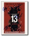 Oceans 13 signed by five