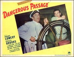 DANGEROUS PASSAGE card #2 from the 1944 movie. Staring Robert Lowery, Phyllis Brooks