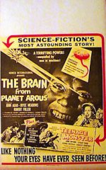 BRAIN FROM PLANET AROUS / TEENAGE MONSTER Sci-Fi