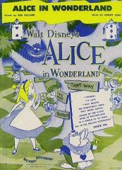 Alice in Wonderland Disney 1951