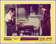 Nightmare Edward G. Robinson #2 1956