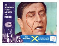 X Man with the X-Ray Eyes Ray Milland