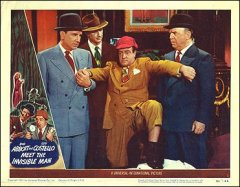 Abbott and Costello Meet the Invisible Man Both pictured
