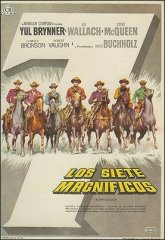 Magnificent Seven Yul Brynner Steve McQueen