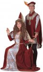 Deluxe Medieval Woman S M L