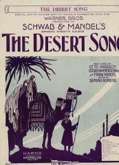 Desert Song Schwab and Mendel's 1929
