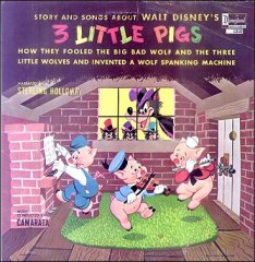 3 Llittle Pigs Walt Disney