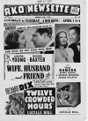 Wife Husband Friend Loretta Young Warner Baxter Twelve Crowded Hours Lucile Ball