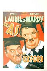 Chumps at Oxford Laurel and Hardy Belg. 1950R