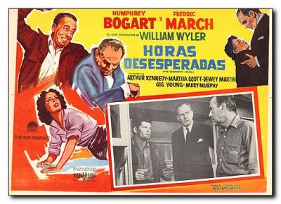 Desperate Hours Humphery Bogart Fredric March Maria Scott Gig Young 2