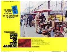 DAY OF THE JACKAL #1 from the 1973 movie. Staring Edward Fox