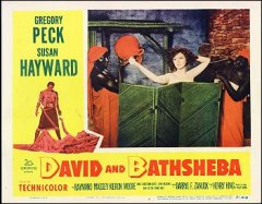 David and Bathsheba 1951 # 7. Staring Susan Hayward Gregory Peck