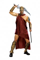 Deluxe Spartan Costume STD size 300 The Movie IN Stock