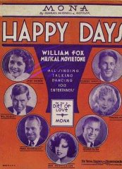 Happy Days Will Rogers 1929