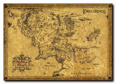 Lord of the Rings Reg Map