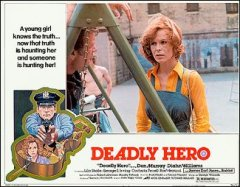 DEADLY HERO lobby card set from the 1976 movie