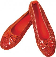 Deluxe Dorothy� Wizard of Oz Adult Shoes Size S, M, L