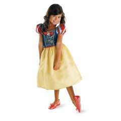 SNOW WHITE Classic Girl Costume Size 4-6X