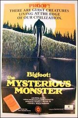 Bigfoot Mysterious Monster Peter Graves 1975