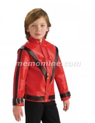 Michael Jackson RED THRILLER DELUXE JACKET Child Costume PRE-SALE