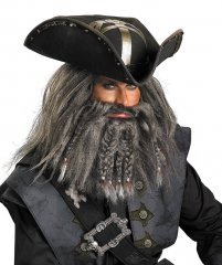 Disney Pirates of the Caribbean Blackbeard Facial Hair Kit
