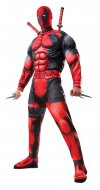 DEADPOOL Adult Deluxe Muscle Chest Costume Size STD, XL