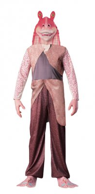 Deluxe Jar Jar Binks� Child Costume Star Wars Size S,M,L