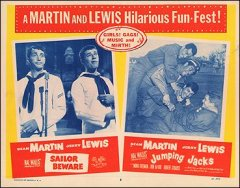 Sailor Beware/Jumping Jacks combo Martin and Lewis